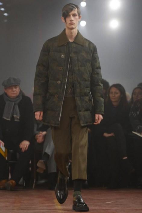 Alexander Mcqueen menswear fall winter 2015 in london