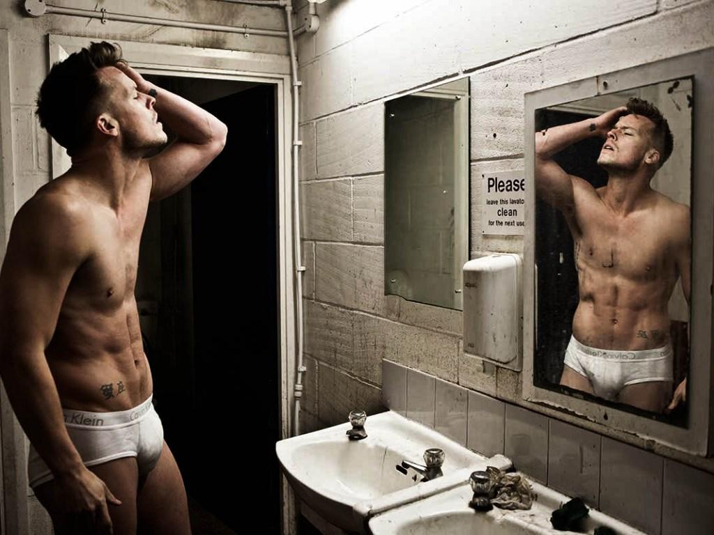 Photographer Darren Black captures an artsy session featuring striking dancer, choreographer & model Jason Beitel.