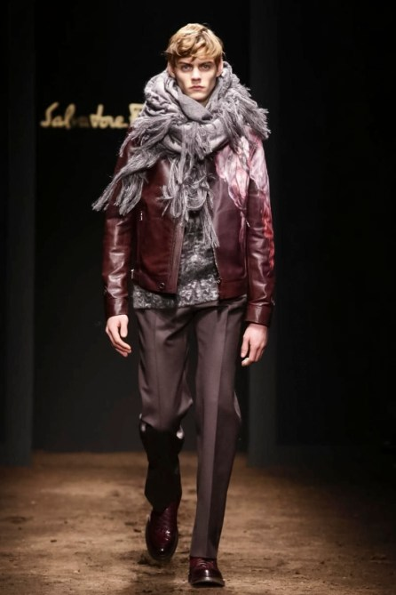 Slavatore Ferragamo Menswear Fall Winter 2015 Collection in Milan