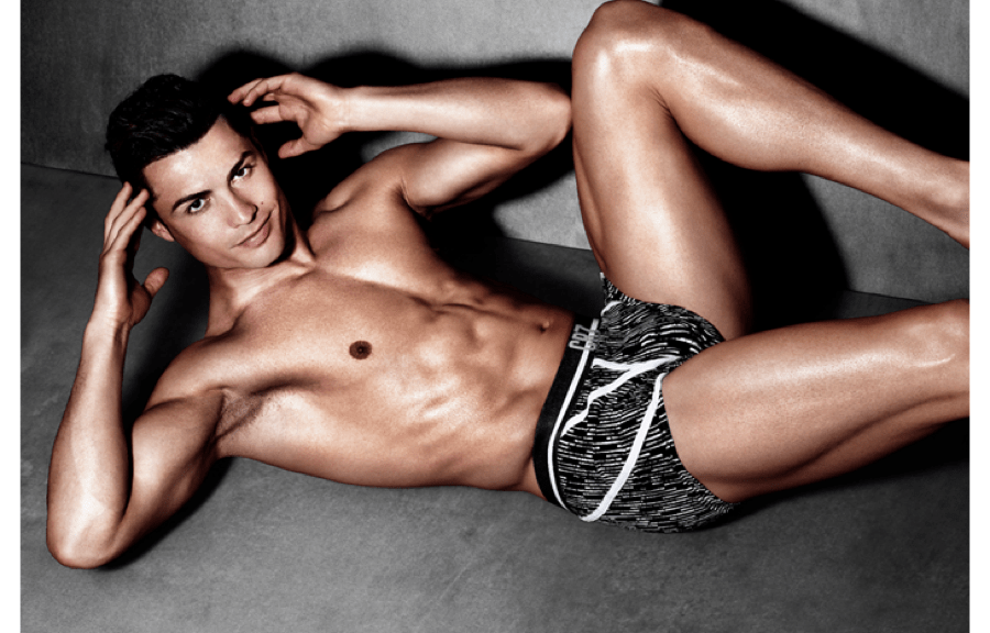 Famous sportsman Cristiano Ronaldo has unveiled the new Spring/Summer 2015 collection of his CR7 by Cristiano Ronaldo Underwear brand. This is the third collection of CR7 and the three times Ballon D'Or winner and recipient of last year's Golden Boot marked its launch by revealing (apart from the great campaign photos you see below) his top 15 health and fitness tips. Hero styles from the new collection are showcased in the new CR7 Underwear campaign, shot by globally renowned fashion photographer Rankin. The striking images feature Ronaldo honing his infamous physique in a gym inspired environment, whilst modelling key styles from the range.