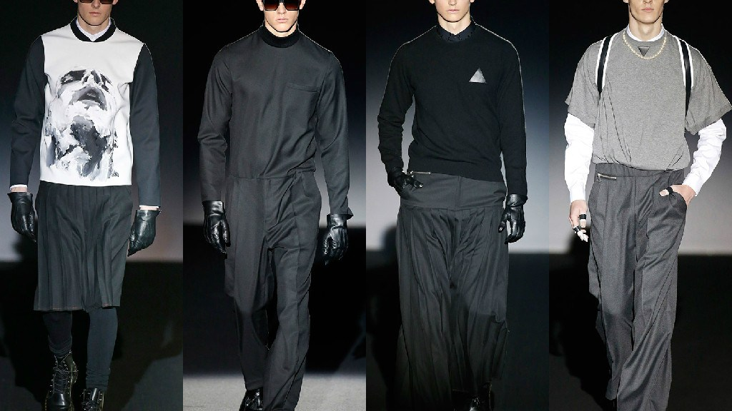 Dark colors that compliment a dark collection are the tones with which Davidelfin presented in the Mercedes-Benz Fashion Week Madrid her winter collection, adding geometries, strategic cuts and digital prints to looks futuristic inspiration.