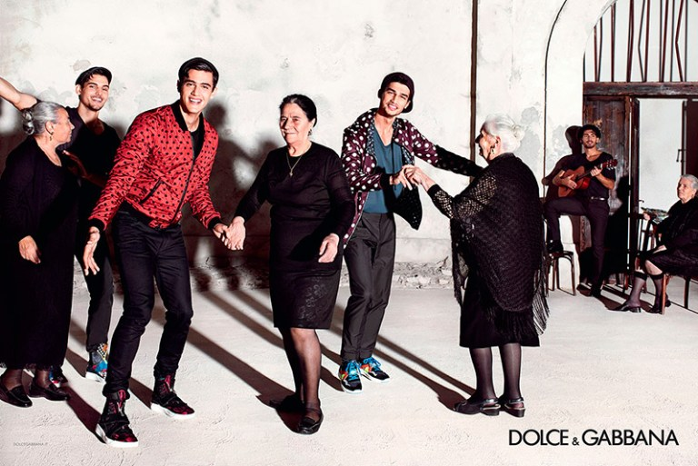 The Spanish influence on the Sicilian traditions and colors is the inspiration for the images of the Spring/Summer 2015 campaign  of Dolce & Gabbana, featuring Spanish bullfighter José Mari Manzanares and models Travis Cannata, Xavier Serrano and Misa Patinszki photographed by Domenico Dolce.  See the first part HERE!