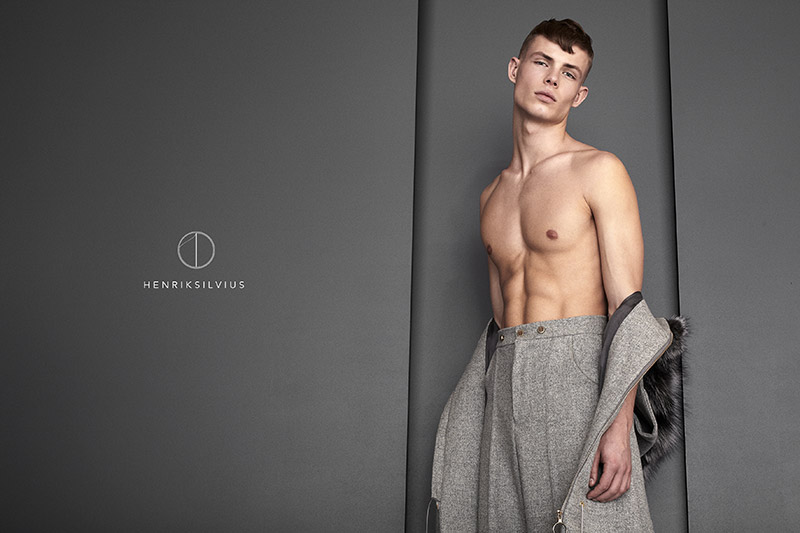HENRIKSILVIUS unveiled its Fall/Winter 2015 campaign, featuring Simon Blom at Scoop Models photographed by Niklas Højlund.