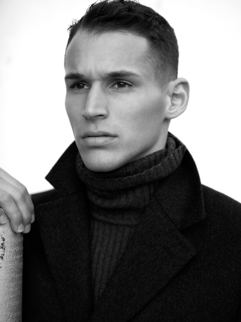We are very happy to present another one finest and professional work from talented Karl Simone and male model Alex Ciappara from Click NY. Charming and divine Alex enlists one of the most promising faces for this year.