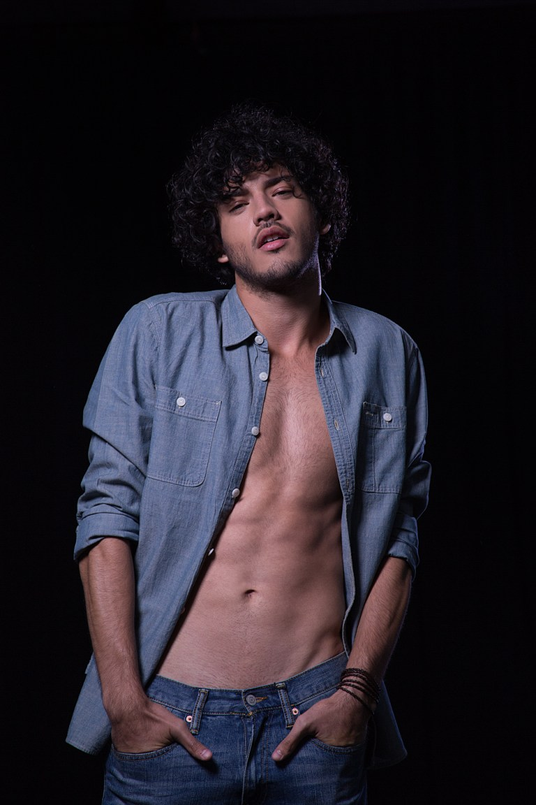 """Presenting for the very first time Photographer René de la Cruz from Chile with his project entitled """"Ensayo 36: Caio"""". Starring Brazilian new face Caio Botelho from New Models (Chile) and Joy Models (Brazil). It's a good job meeting the objectives achieved, a beautiful potential model."""