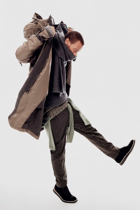 rag & bone released its Fall 2015 Men's Collection with Mikhail Baryshnikov, Lil Buck, Jon Boogz, Yuri Pleskun, Race Imboden & Randy Scott Carroll. Photographed by Andreas Laszlo Konrath and Styled by Clare Richardson. Featuring absolutely amazing classic pieces and bags for men.