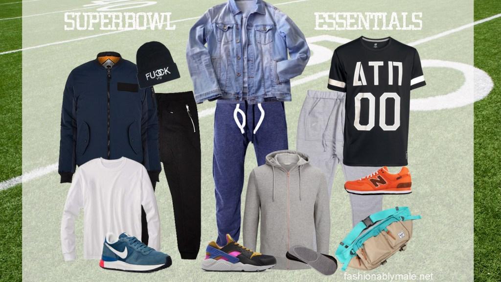 Super Bowl wardrobe Essentials by Fashionably Male