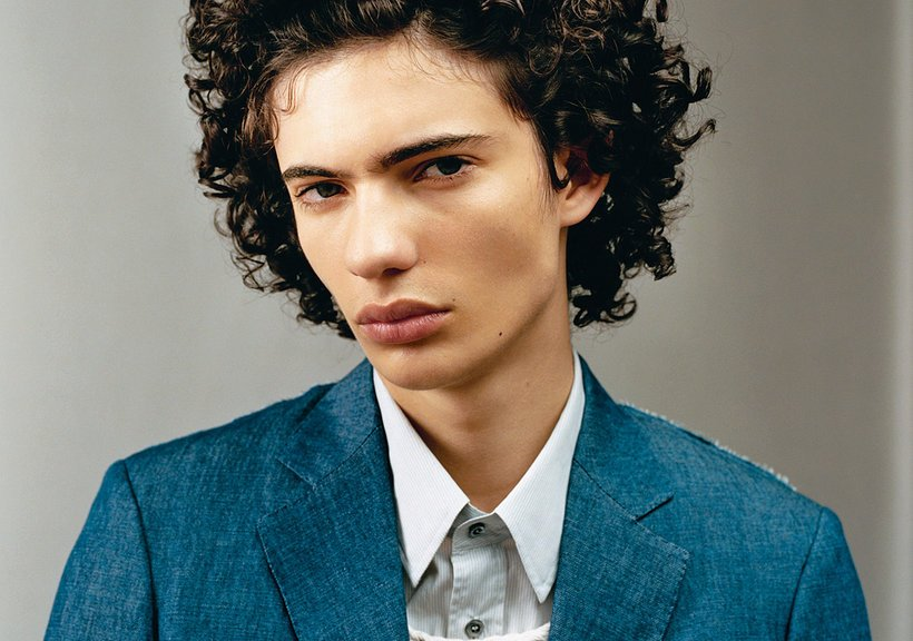 T Magazine presents model sensation Piero Mendez and Jackson Hale photographed by Oliver Hadlee and styling by Carlos Nazario.
