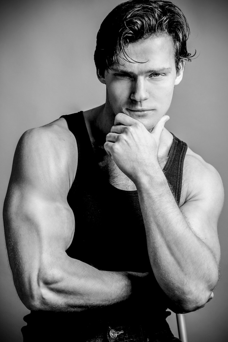 Stunning male model Ben Todd of Crew Models International returns in these exclusive images for Fashionably Male. The Ontario Canada native is a personal trainer, natural bodybuilder, physique competitor, fashion and fitness model. He is a Canadian provincial level athlete in the Ontario Physique Association and is sponsored by Dynamis Nutrition Supplements.   These images were captured by talented photographer Michael Ching.