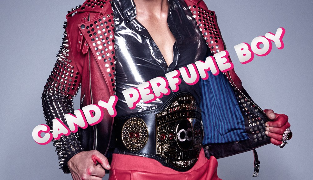 Oscar Calvo, the male couture creative force is back with his sugar coated new collection 'Candy Perfume Boy'. The new Tran-seasonal line will feature some winter pieces and a playful kaleidoscope of colour. Hot pink, candy and boxing title belts are the essence of this eclectic and adventurous collection. New York based model David Sciola returns to lend his razor sharp good looks, adding to the versatility of the line. With a long wrap sheet including Oscar Calvo's 2011 Knitwear campaign and the face of Armani Collezioni worldwide. Sciola is set to bring 'Candy Perfume Boy' to life. Do not be mistaken, you won't find him in your local confectionary isle. You'll just have to wait and find out!