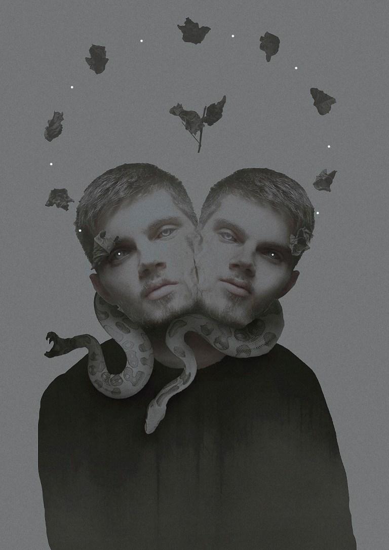 Exposing digital Artwork by artist Iurii Ladutko entitled Mental Disorders.