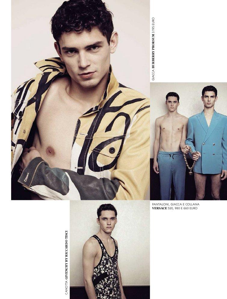 GQ Italia March 2015 Come dei Ragazzi Photographer: Greg Swales. Stylist: Andrea Porro. Hair: Terry Saxon. Makeup: Mary Cesardi.