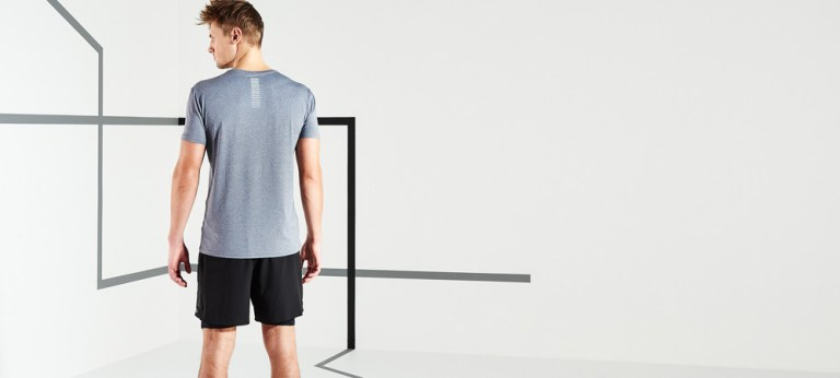 Running is always a good idea, but running in quick-drying, breathable t-shirts is even better!