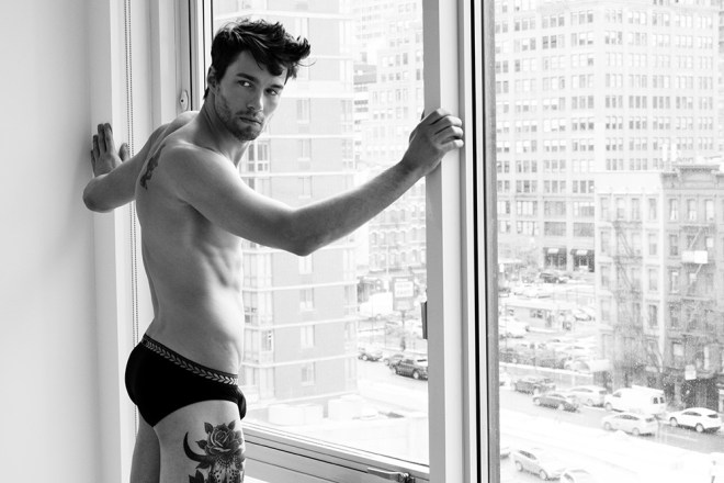 """We really want to come those summer days in the city, here we presents """"Summer Dreams"""" by photographer Largaret and male model Nate of New York Model Management, with a Fashion Direction by Daniel Marandola and grooming by SureshNY, the stunning model wears Underwear from Versace, Emporio Armani and Charlie by MZ, also is included jewelry by Cartography."""