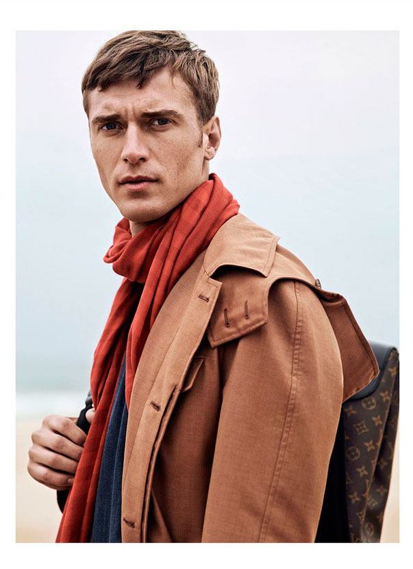 GQ Style Turkey SS15 presents French top model Clément Chabernaud by Umit Savaci styled in classic luxury garments out of the sea shoot. Giving always the best of him in every work we post.