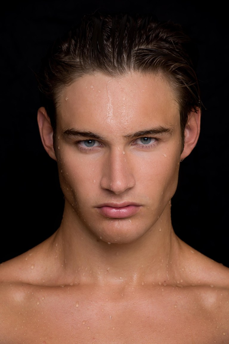 Presenting beautiful face and toned body Mark Pighetti from Elite Model Miami captured fresh snaps by Fritz Yap.