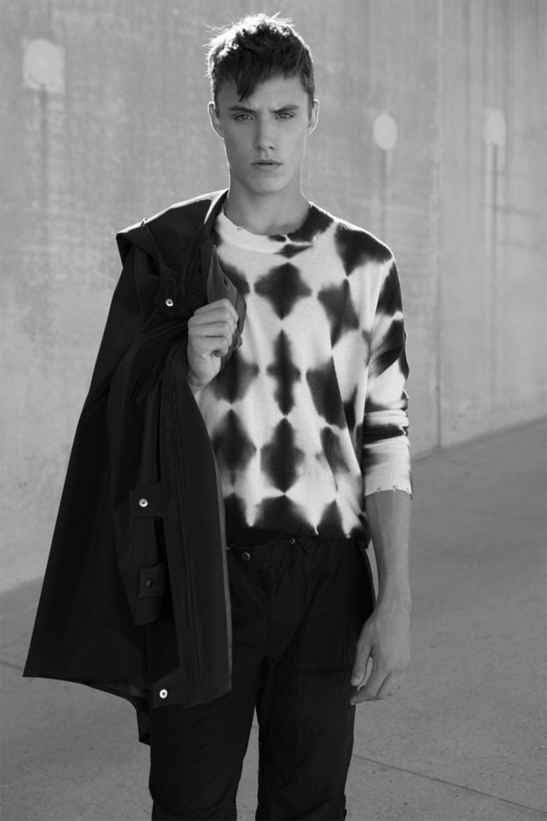 Ready to hit the big modeling scenarios, introducing 16yo star soccer player he's Roman Alexander incredible bone structure and beautiful eyes captured a portfolio by talented Michael Dar.