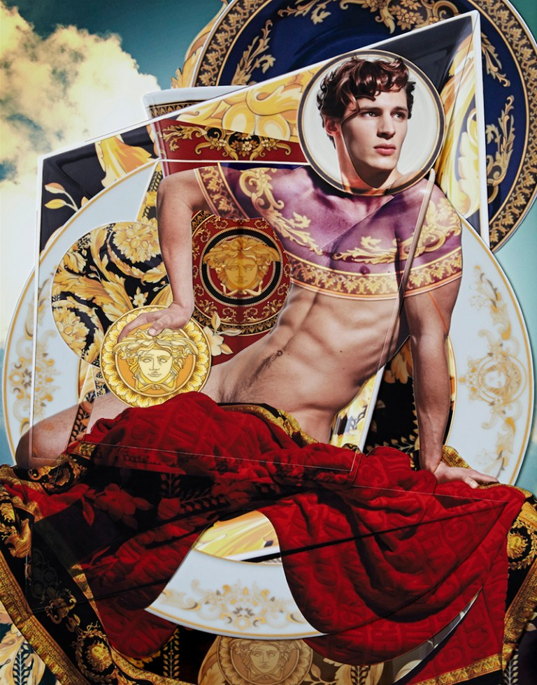 Philistine magazine / 2nd issue / When fashion meets interiors / A story dedicated to Versace, the Home collection / http://www.philistinemag.com/#!shop/cxb6
