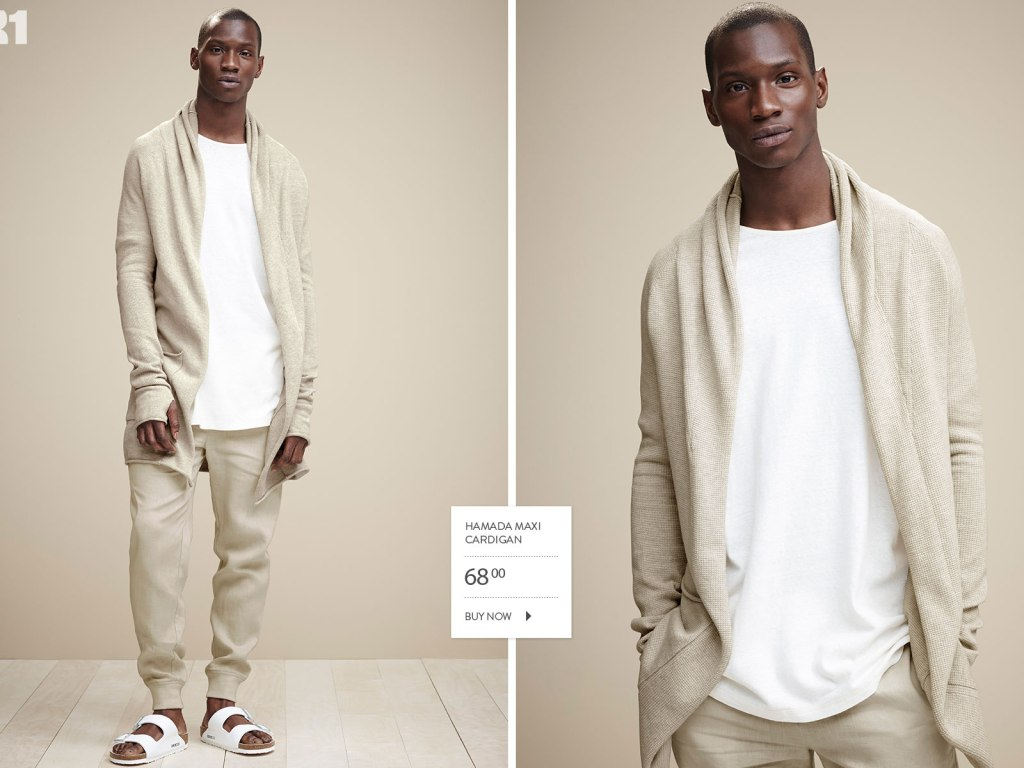 Very handsome, Adonis Bosso fronts New Look book 2015 for Canadian's retailer Simons, we love his suave attitude & poses!