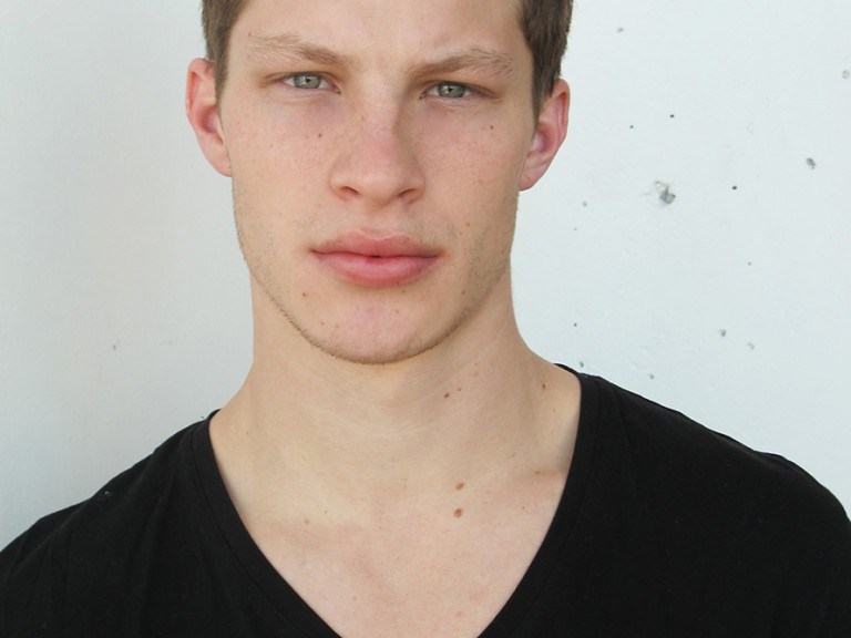 Even though Jordan Paris was born and bred in the American heartland, he has a distinctly European factor that totally matches his pre-emptive surname. It's a no brainer then that Jordan, after only working for two months, walked for DSquared2 and Ermanno Scervino recently in Milan. Discovered by Mike Stallings of U Models Management as he got off a bus after visiting his sister in Boston, Jordan has a beauty that causes a conundrum – at first glance, his brooding beauty seems suited to smoky coffee houses in Paris, yet this graduate of Business Management from Hofstra University takes pure delight in soccer, snowboarding, four wheeling, and adrenaline rushes. This self-confessed momma's boy is a complete mitzvah!
