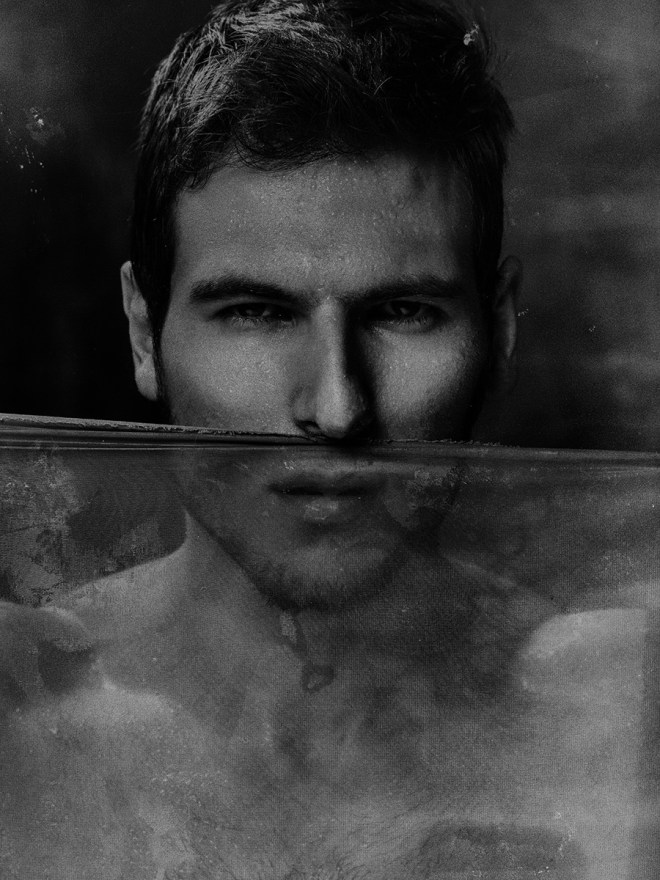 Our current obsession is Russian hunk Tim Arlovski in a ll wet portrait story showing the fit toned body that Tim possess, shot by Serge Lee.