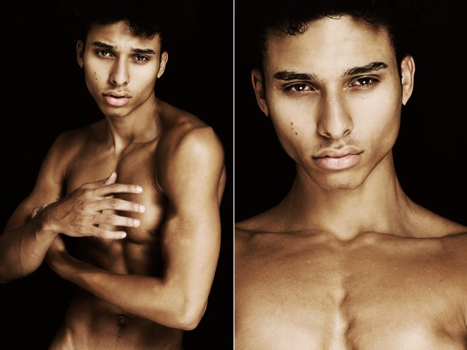 Amazing portrait with model Yunis Torres at Red Models shot by Deon Jackson.