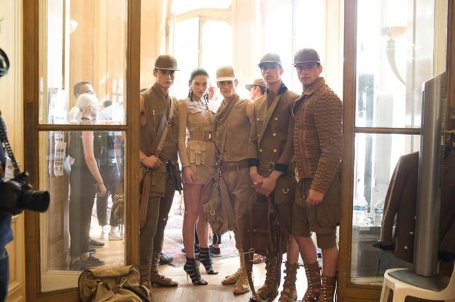 Balmain Spring 2016 Menswear Backstage927