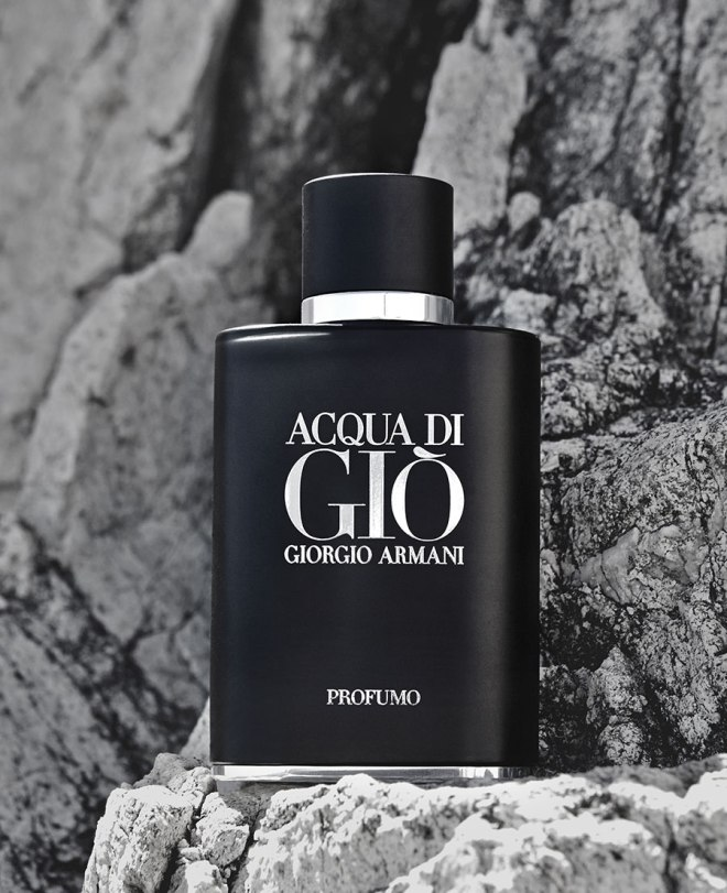 The new fragrance Acqua di Gio Profumo by Giorgio Armani