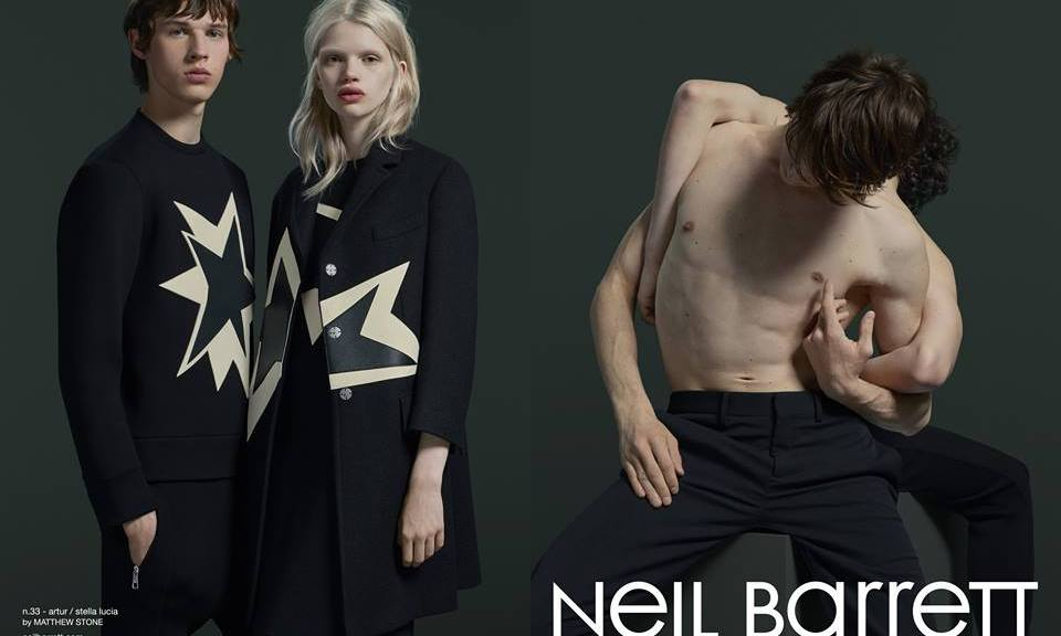 Neil Barrett Fall/Winter 2015 Campaign
