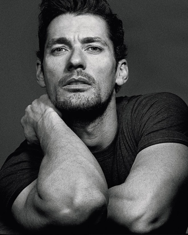 British supermodel David Gandy lands on the pages of the July issue of Spanish magazine ICON, starring in a black & white editorial, lensed by photographer Pawel Pysz.