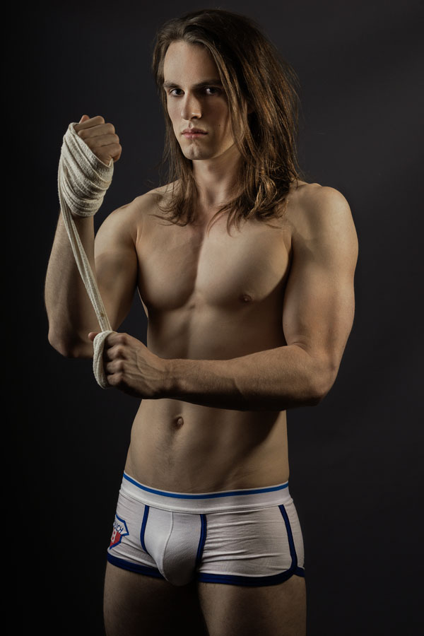 Meet new up and coming model Sean Triffett in a shot portrayed by alan Tan