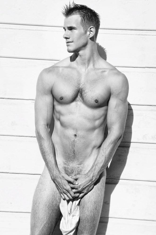 Fitness model Blake Postma posing sexy and charming shots by Ray John Pila.