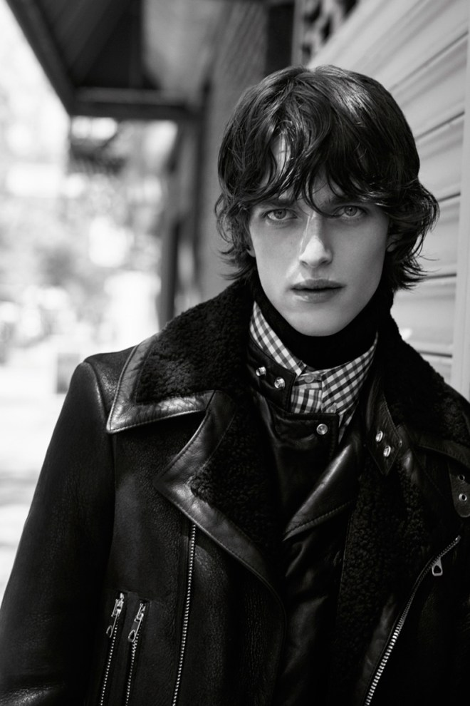 Reuben Ramacher fronts the Fall/Winter 2015 campaign of Diesel Black Gold, shot by Karim Sadli.