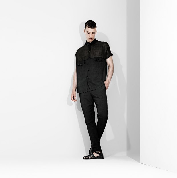 The Spring/Summer 2016 menswear collection from Domingo Rodriguez.
