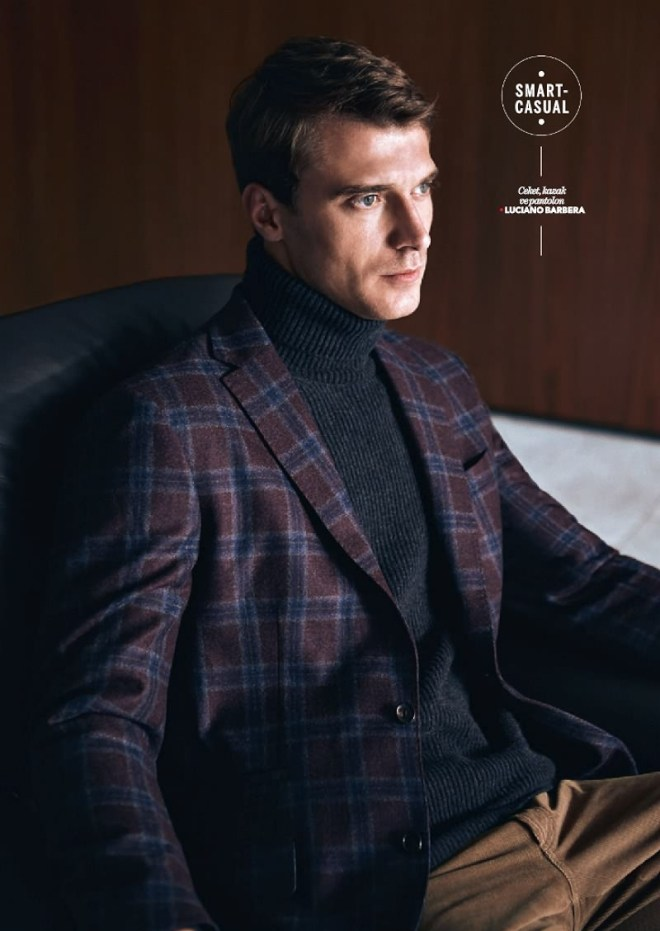 Beymen F/W 15.16 by Koray Birand. Modeling all outfits by Clément Chabernaud Super handsome as always.