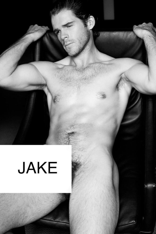 Intimate and private portrait starring by Jake Jensen shot by Lucas Ferrier. Jake looks sexier than ever. This is a real professional portrait made by Lucas Ferrier.
