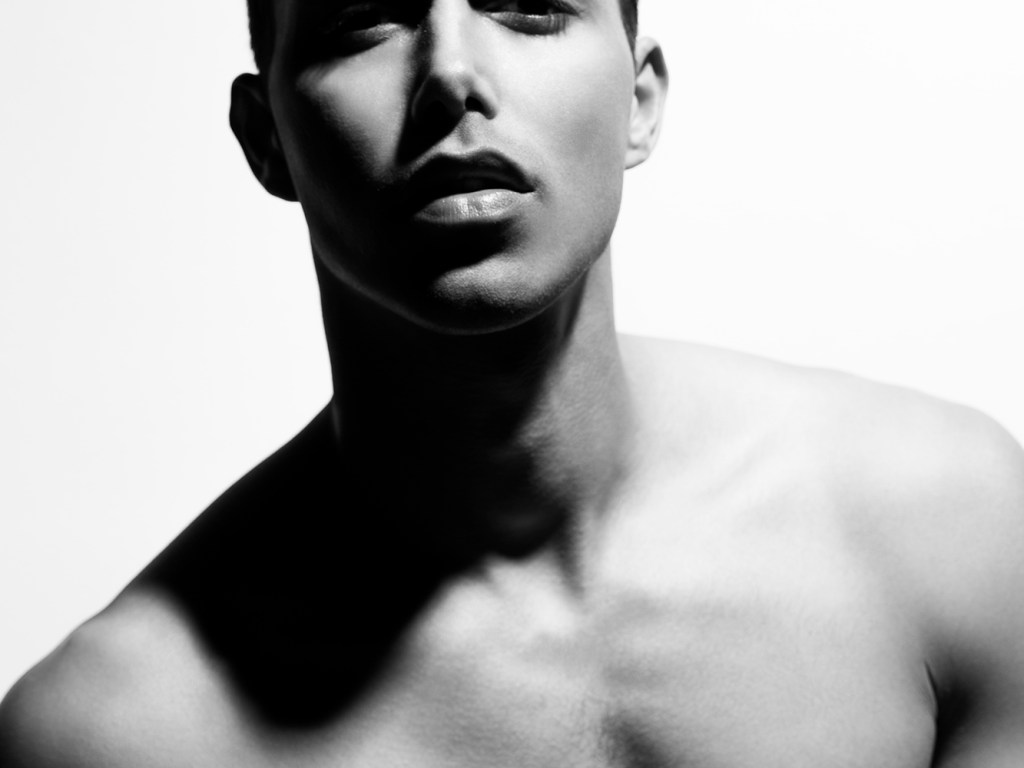 Come to meet beautiful camel model Tremayne Patterson posing for the lens of Trent Pace in a b lack and white session.