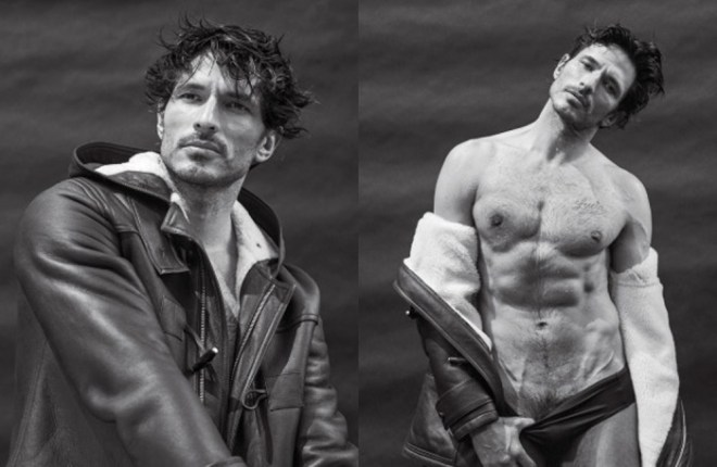 Picture this: five of fashion's top male models, six golden retrievers, a barbecue, an ice-cold pool, and Bruce Weber clicking away with his camera. This was the scene that kicked off the photographer's latest endeavor for VMAN.