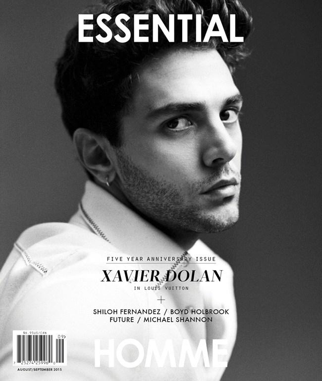 Xavier Dolan by Shayne Laverdière from Essential Homme