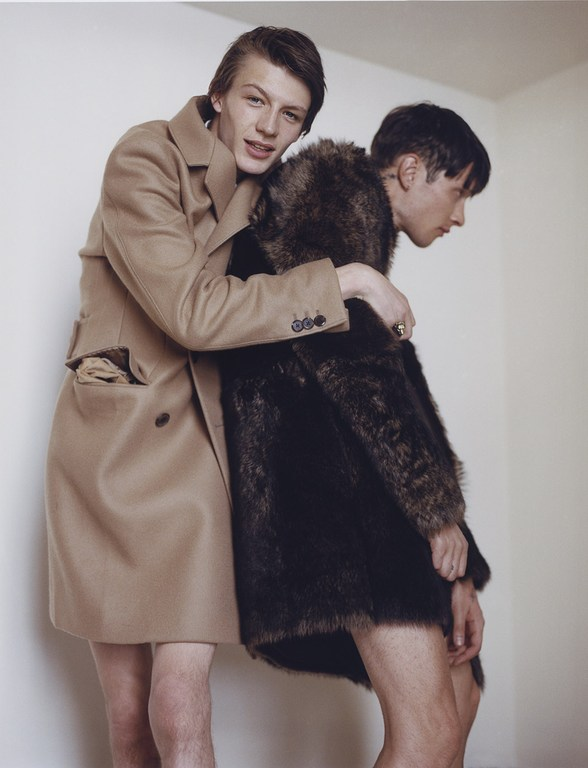 DSection Magazine features images of fashion Photographer Paolo Zebrine and stylist Tuomas Laitinen.
