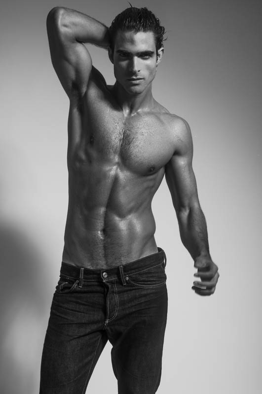 Portraying handsome male model (Sight Management) Juan Betancourt by Charl Marais.