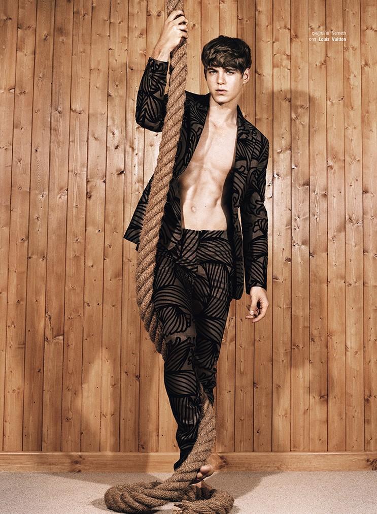 Harpers Bazaar Thailand Men | F/W 2015 features Paul Scala editorial work Fashion Editor/Stylist Jonathan Ailwood.
