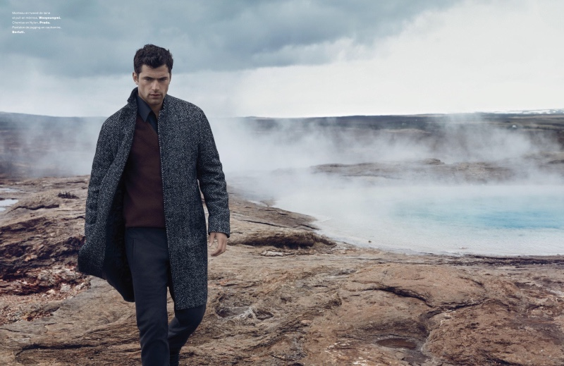 I can't imagine where he is, this is a beautiful place landing top model Sean O'Pry for Numéro Homme Fall/Winter 2015 stunning work lensed by Jacob Sutton.