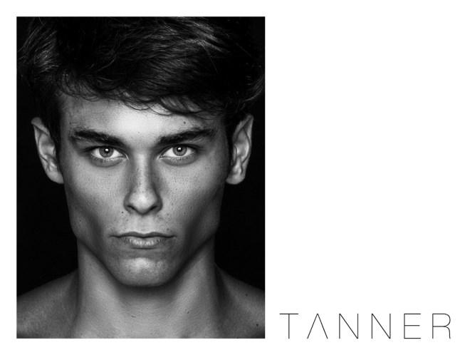 Stunning portrait of Tanner Junker by Blake Ballard. Model  Tanner Junker is at Directions USA and Joy Models Milan. Wardrobe Stylist: Matthew Jordan of Directions USA.