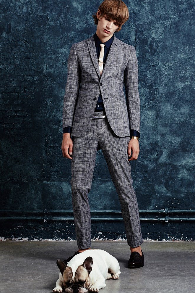 This is a very nice S/S 2015 lookbook by The Suits starring by Erik van Gils. Photographed by Cristian Davila Hernandez and styled by Jean-Paul Paula.