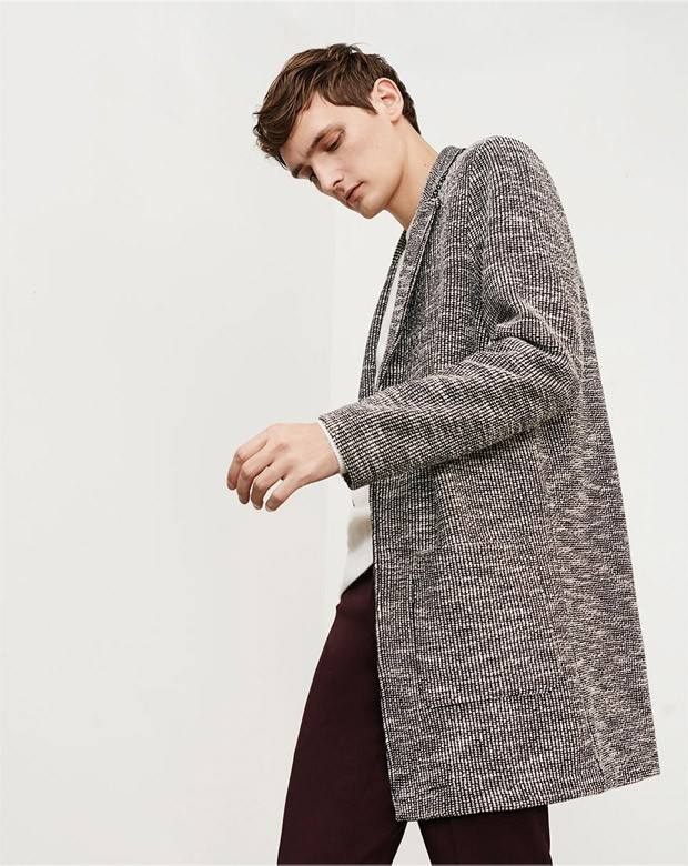Zara spreads Seasonal an editorial Fall/Winter 2015 leading super model Yannick Abrath from View Management.