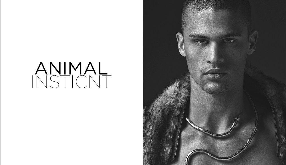 """It's been a while since last project of Lagaret is exposed in Fashionably Male, but we nbring this exclusive new project entitled """"Animal Instinct"""" with stunning male model Seth Martin dashing all over the place, he's from Fusion Models. Styling by Mike Stallings."""