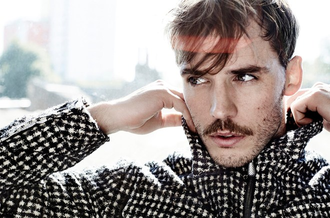 I found this very pleasant, shot by Alex Bramall featuring male model Sam Claflin.