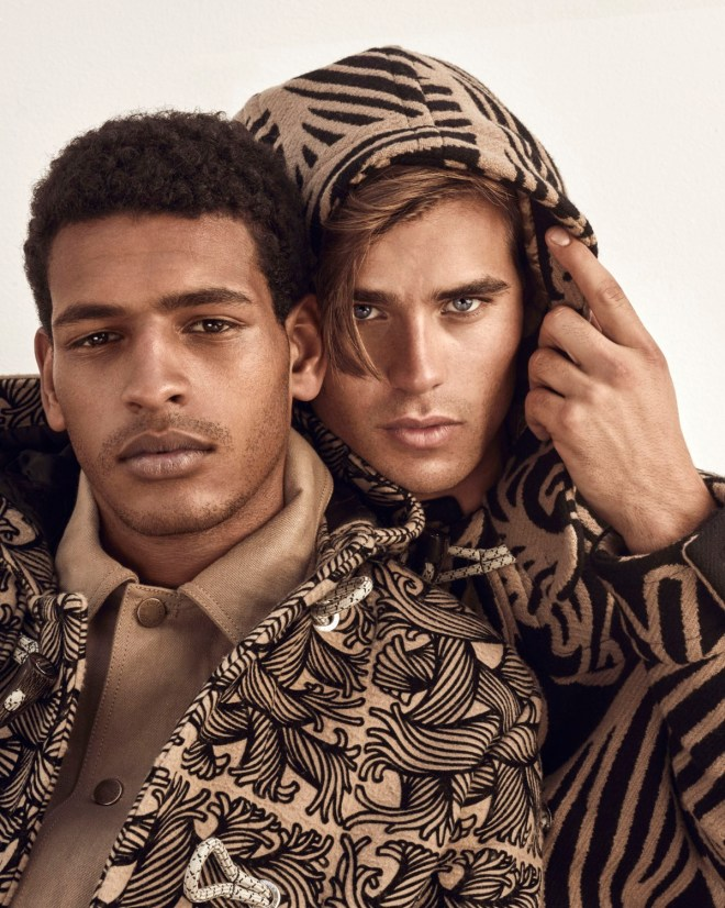 "Out Magazine ""Best of British"" captured by talented  Mariano Vivanco and Styling by Grant Woolhead, grooming by Larry King"
