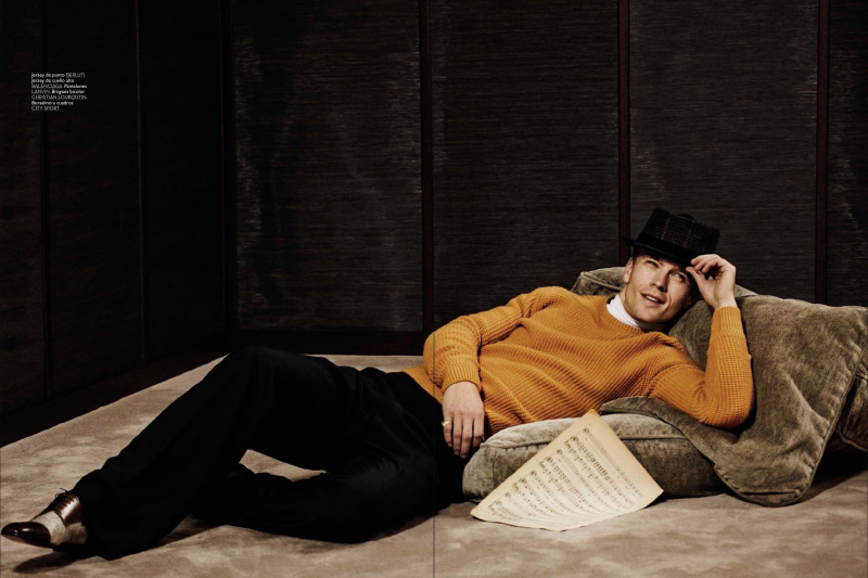 Benjamin Eidem as Sinatra GQ Spain0